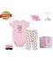 Little Treasure Layette Gift Box Set - Flawless Pink 4pcs
