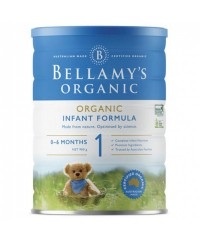 Bellamy's Step 1 Organic Infant Formula - 900g x 3