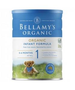 Bellamy's Step 1 Organic Infant Formula - 900g x 3