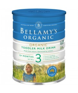 Bellamy's Step 3 Organic Toddler Milk Drink - 900g x 3
