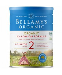 Bellamy's Step 2 Organic Follow On Formula - 900g x 3