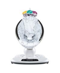 4moms Mamaroo Smart Baby Bouncer 4.0 ( Silver Plush )