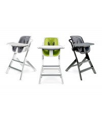 4moms High Chair white grey/green