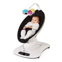 4moms Mamaroo Smart Baby Bouncer 4.0 ( Black Classic )
