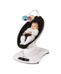 4moms Mamaroo Smart Baby Bouncer 4.0 ( Black Classic )