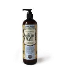 Four Cow Farm Traditional Castile Hair & Body Wash 485ml