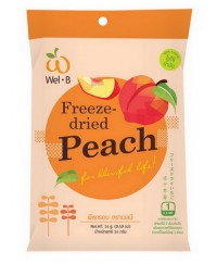 Wel-B Freeze Dried peach