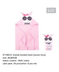 Luvable friends Animal Hooded Towel