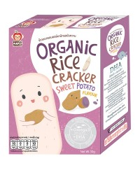 Apple Monkey Organic SWEET POTATO Rice Cracker