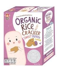 Apple Monkey Organic SWEET POTATO Rice Cracker