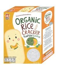 Apple Monkey Organic PUMPKIN Rice Cracker
