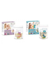 Autumnz - Double ZipLock Breastmilk Storage Bag (28 bags) *5oz*