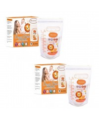 Autumnz - Double ZipLock Breastmilk Storage Bag (28 bags) *10oz*