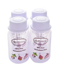 Autumnz - B/milk Storage Bottles (4 btls) - Lilac Sweeties