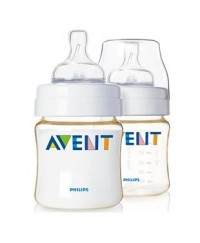 Philips Avent PES Bottles 4oz/125ml -TWIN PACK
