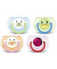Philips Avent Soothers Animal (6-18mth) TWIN PACK