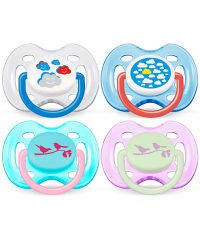 Philips Avent Fashion Baby Soothers (0-6m) TWIN PACK
