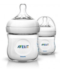 Philips Avent Bottles Natural 4oz/125ml (PP) -TWIN PACK