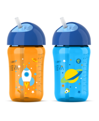 Philips Avent Strawcup 12oz 18m+ TWIN PACK