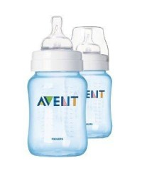 Philips Avent Classic+Special Edition Bottles 9oz/260ml (BLUE) -TWIN PACK
