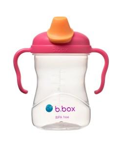B.Box Tritan Spout Cup-Raspberry (8oz)