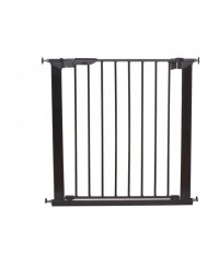 Babydan Premier Pressure Indicator Gate (Black) w/ 2 exit included