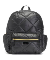 Babymel London Luna Ultra Lite Backpack -Black Quilt