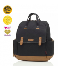 Babymel London Robyn Convertible Backpack Black