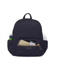 Babymel London Luna Ultra-Lite Backpack -Navy Scuba Emboss