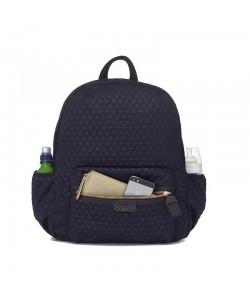 Babymel London Luna Ultra-Lite Backpack -Navy Scuba Emboss