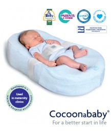 Red Castle Cocoonababy Baby Bed ( White )+ Free Fitted Sheet