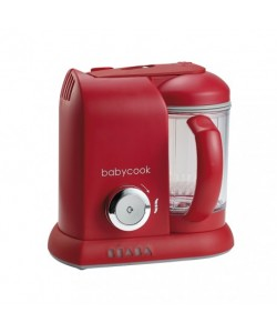 Beaba Babycook Solo 4-IN-1 Steamer & Blender-Red