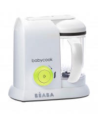Beaba Babycook 4-in-1 Baby Food Maker BS Plug ( Neon)