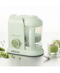 Beaba Babycook 4-in-1 Baby Food Maker BS Plug ( Jade Green)
