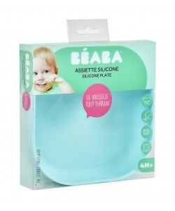 Beaba Silicone suction plate ( Blue / Pink )