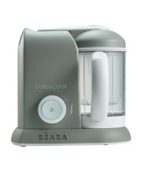 Beaba Babycook 4-in-1 Baby Food Maker BS Plug ( Scandinavian grey)