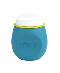 Beaba Squeez'portion, Silicone Food Saver - Blue