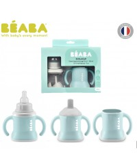 Beaba 3-in-1 Evolutive Training Cup - Airy Green (New)