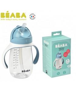 Beaba 300ml Straw Cup - WINDY BLUE(new)