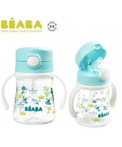 Beaba Straw Cup (240ml)-Blue