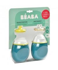 Beaba 2 in 1 BabySqueez' & SqueezPortion  - BLUE