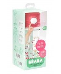 Beaba Straw Cup (350ml)-Pink