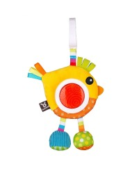 Benbat Rattle Toy with Dazzle Effect