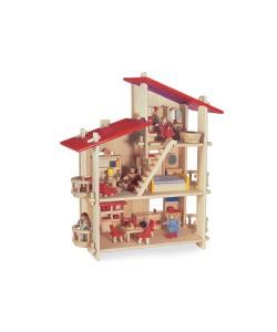 Blue Ribbon Multi Level Wooden Doll House