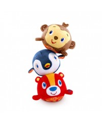 Bright Starts Toss n' Tumble Pal Musical Plush Toy
