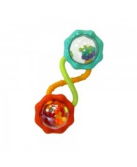 Bright Starts Rattle & Shake Barbell Toy