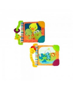 Bright Starts Teether & Read Book