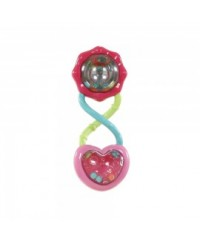 Bright Starts Pretty in Pink Rattle & Shake Barbell