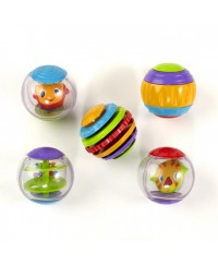 Bright Starts Shake & Spin Activity Balls Toy
