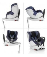 Britax DualFix Convertible Carseat - Crown Blue / Grape